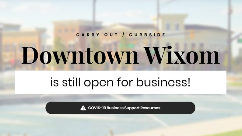 downtown wixom is still open for business