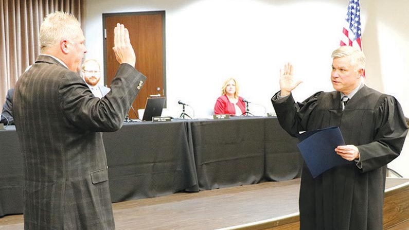 Beagle Takes Over as Wixom Mayor