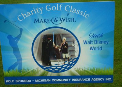 michigan community insurance agency hole in one sponsor