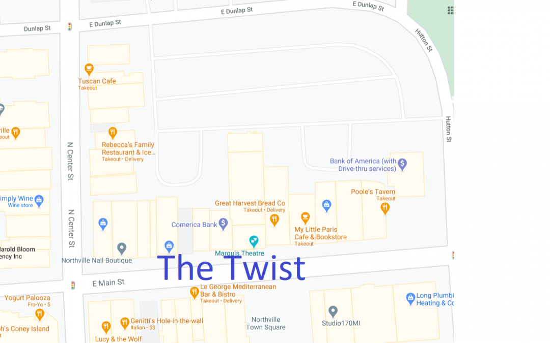 "Downtown Northville Introduces ""The Twist"""