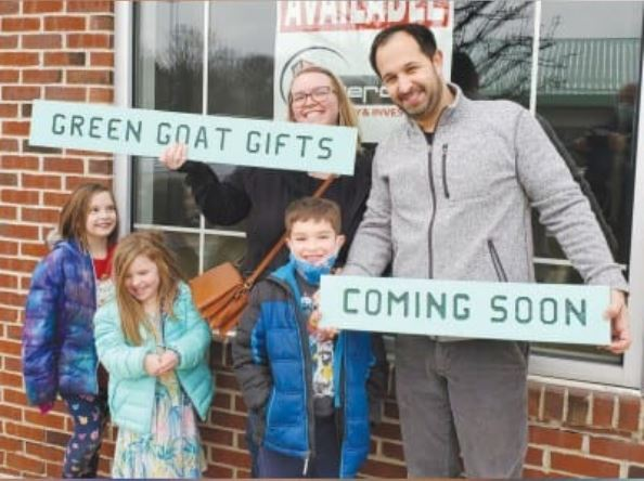 Wixom's Newest Busineness – Green Goat Gifts