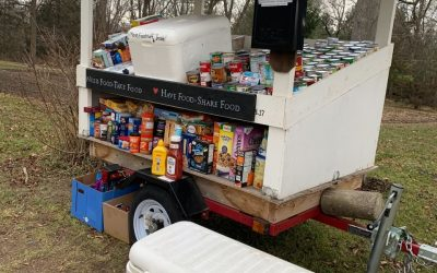 Wixom Rd. Farmstand: Need Food Take Food, Have Food Share Food