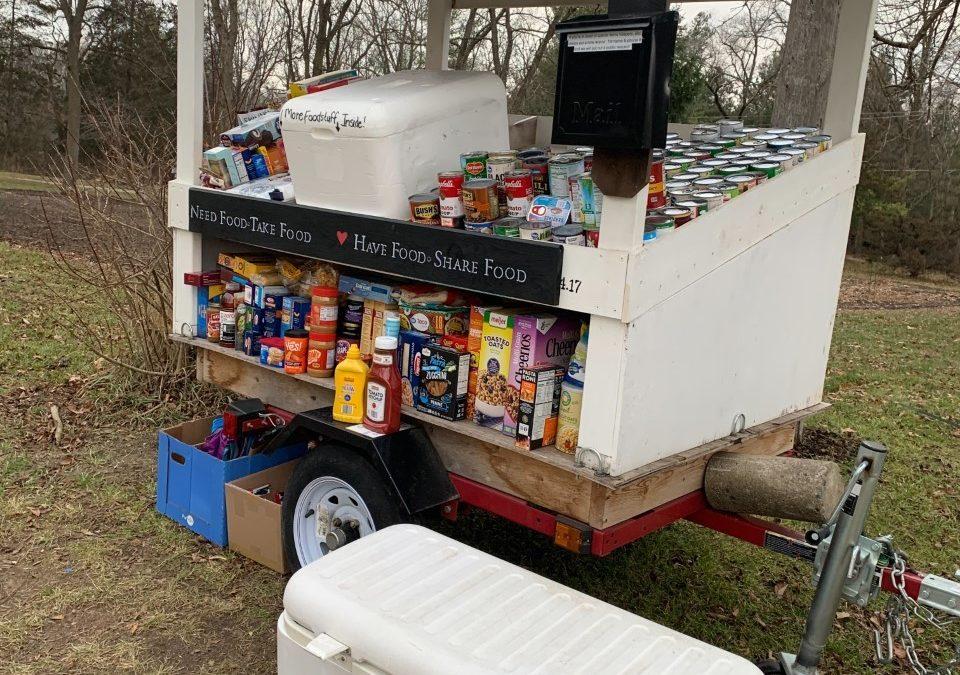 Wixom Rd. Farmstand: Need Food Take Food, Have Food Share Food